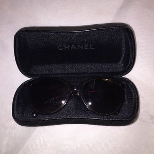 authentic CHANEL brown ombré BUTTERFLY sunglasses